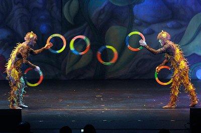 Ring Juggling Tricks